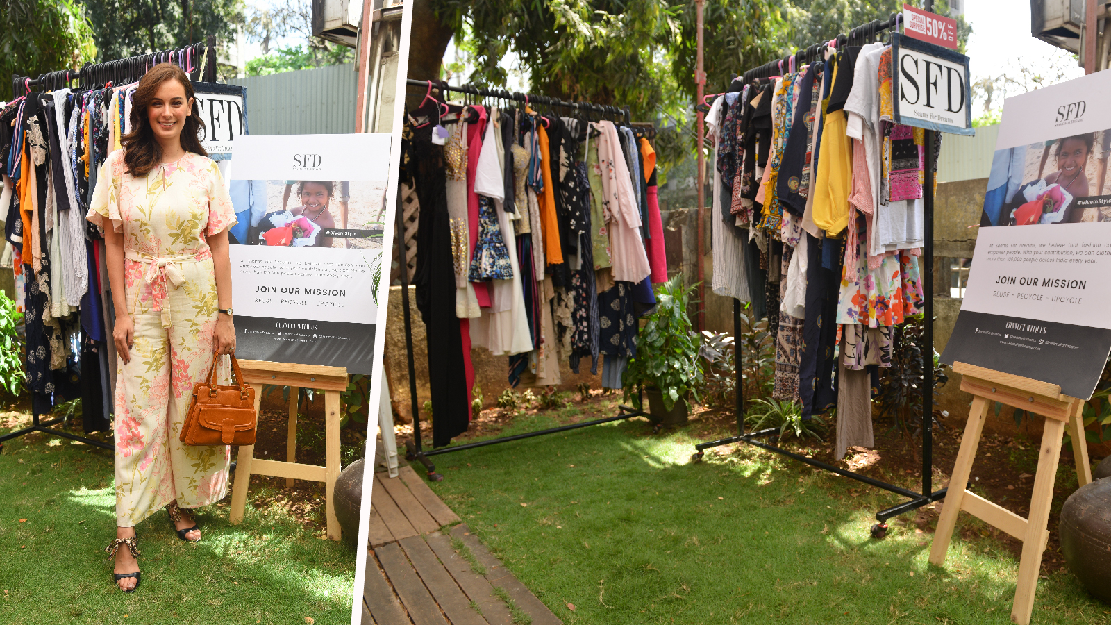 Seams For Dreams and Bombay Closet Cleanse Have Yet Another Successful Event! - Seams For Dreams